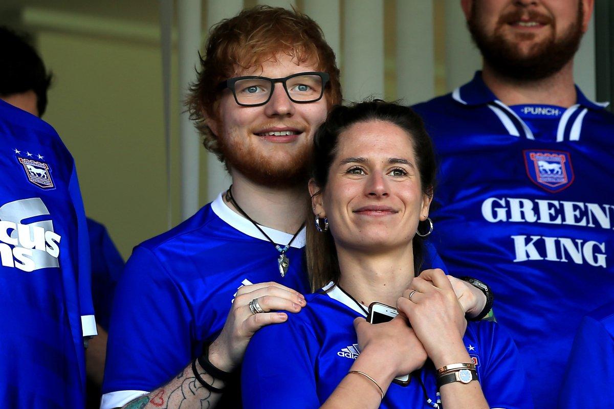 Ed Sheeran feiert wilde Hochzeitsparty nach heimlicher Heirat