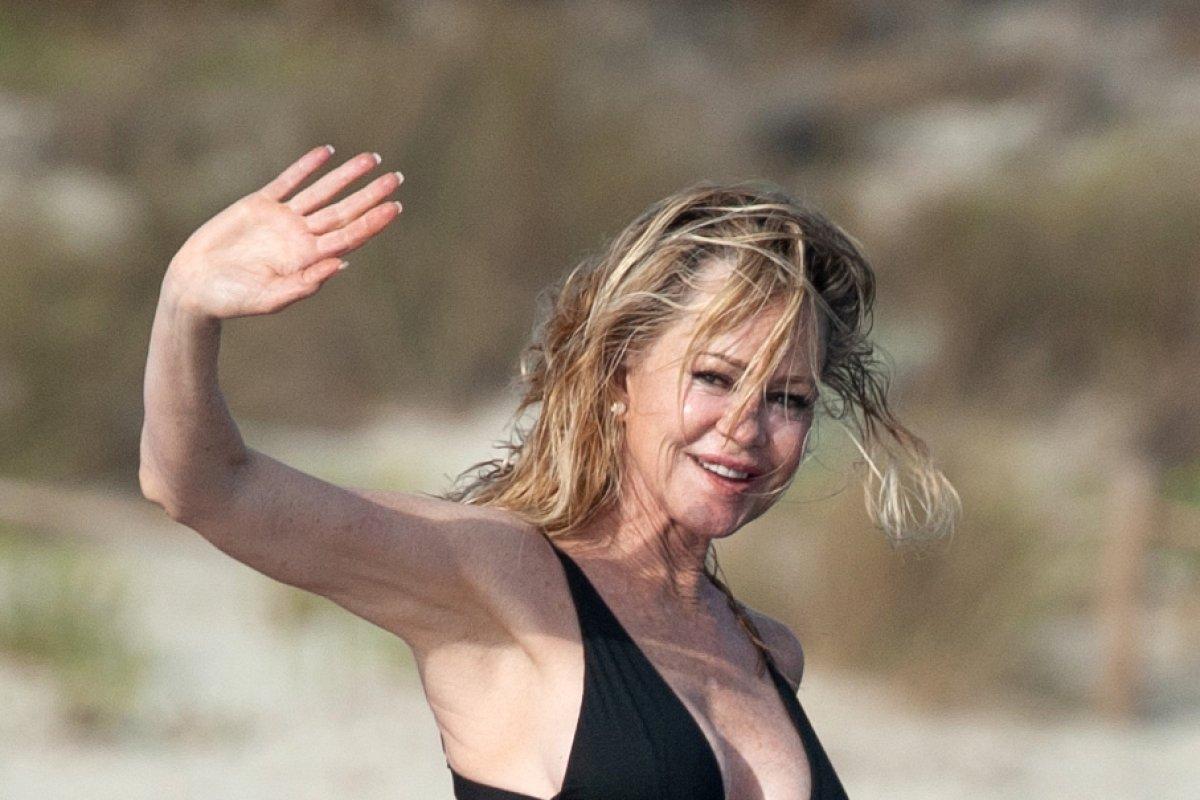 Melanie Griffith: Toller Bikini-Body mit 61 Jahren