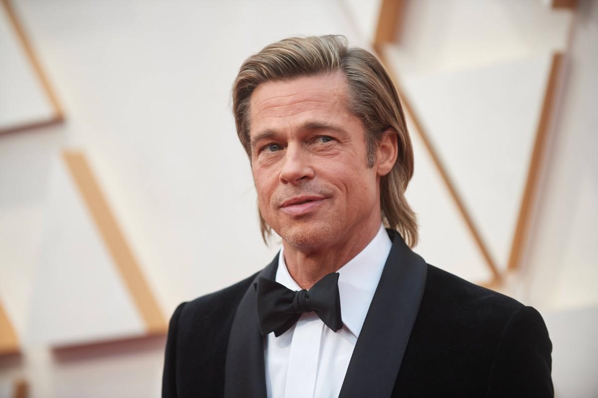 Brad Pitt Dated Er Das Deutsche Model Nicole Poturalski Bildderfrau De