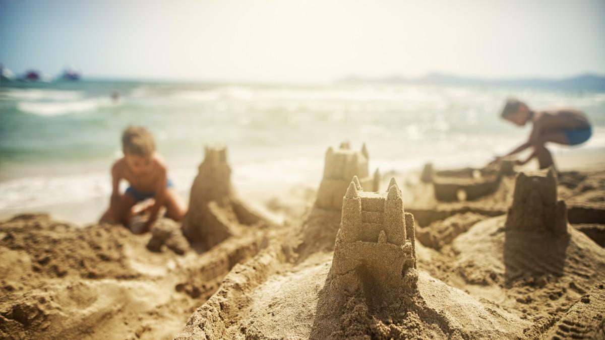 Am familien strand nackt fkk Nackte Mädchen