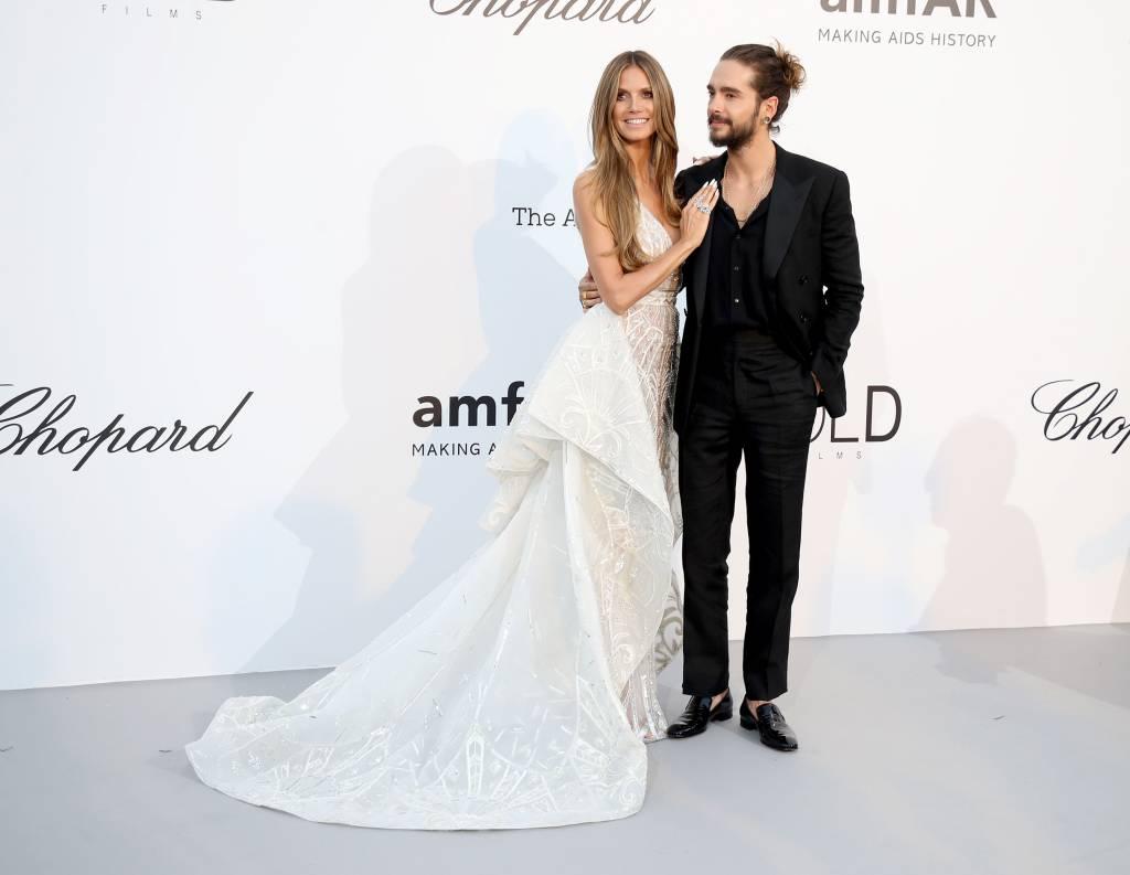 Heidi Klum Und Tom Kaulitz Huch War Schon Hochzeit Bildderfrau De