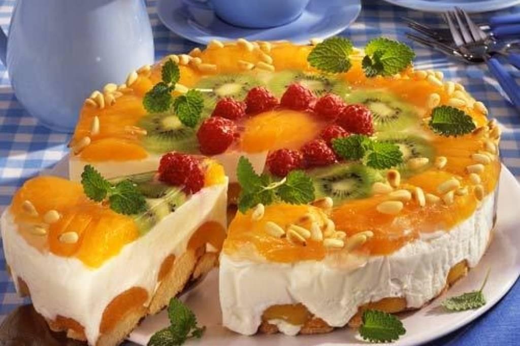 Aprikosen Joghurt Torte Bildderfrau De