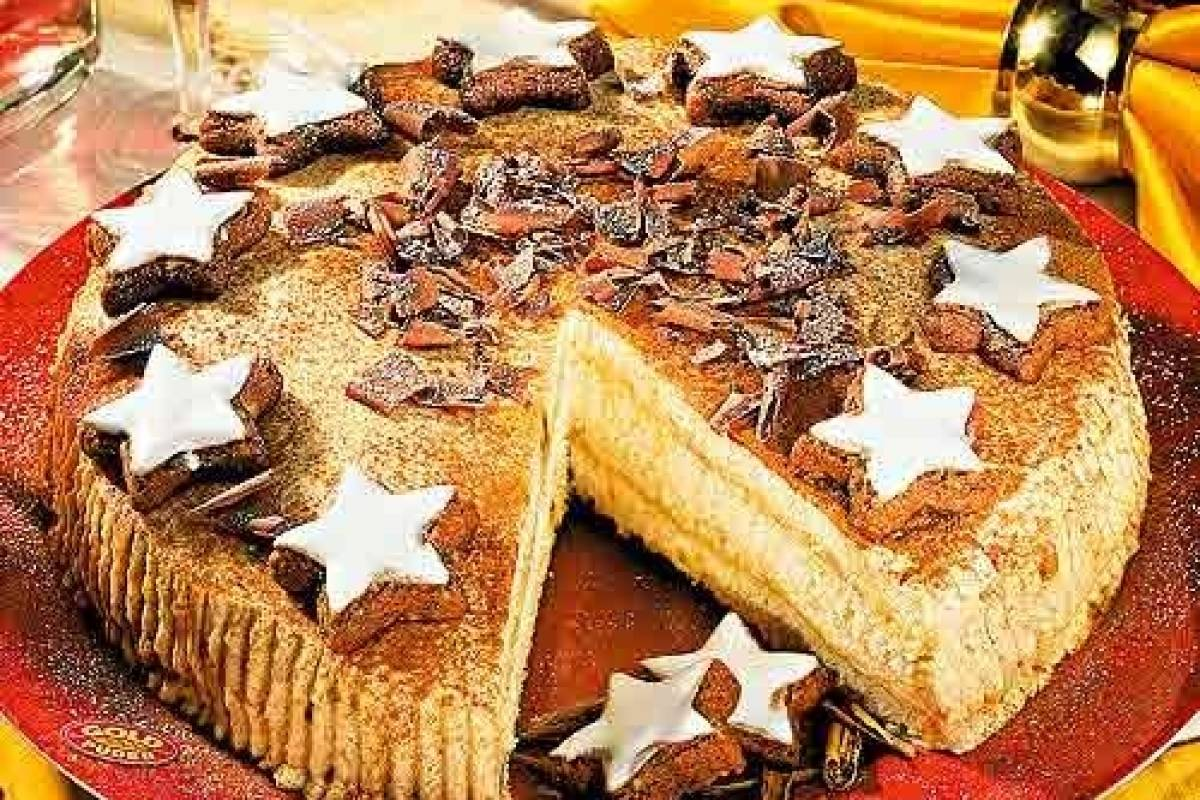 Lebkuchen Mascarpone Torte Fur Winter Schleckermauler Bildderfrau De