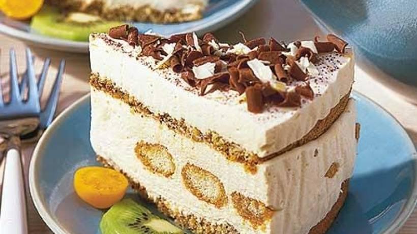 Mascarpone Torte Mit Quark Und Likor Bildderfrau De