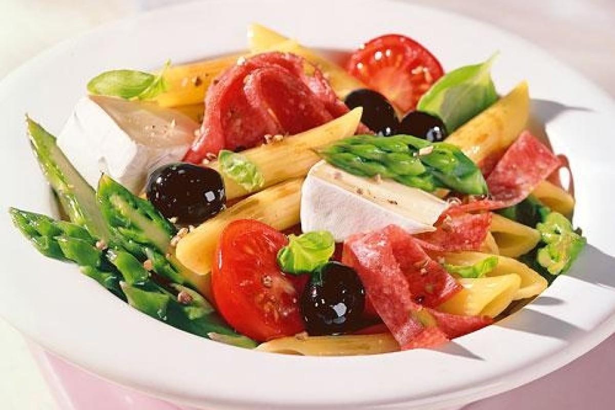 nudel spargel salat