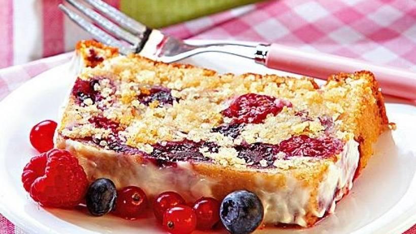 Waldbeeren Joghurt Kuchen Bildderfrau De
