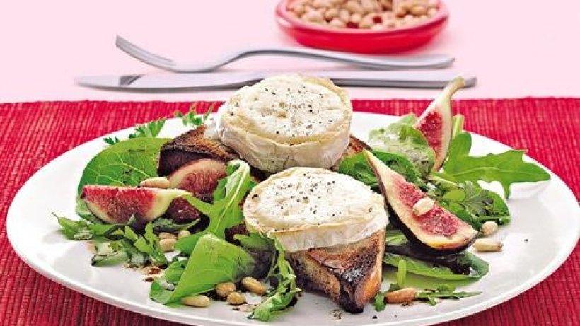 Rezept salat ziegenkase