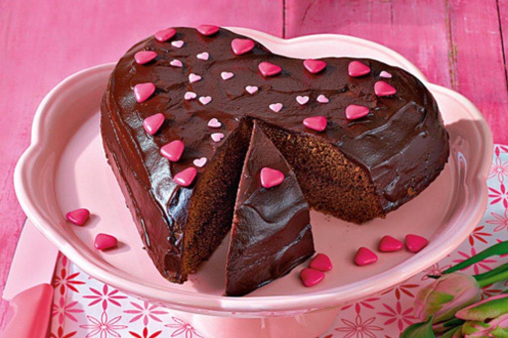 Herzform Kuchen Rezepte Schoko Zuhause Image Ideas