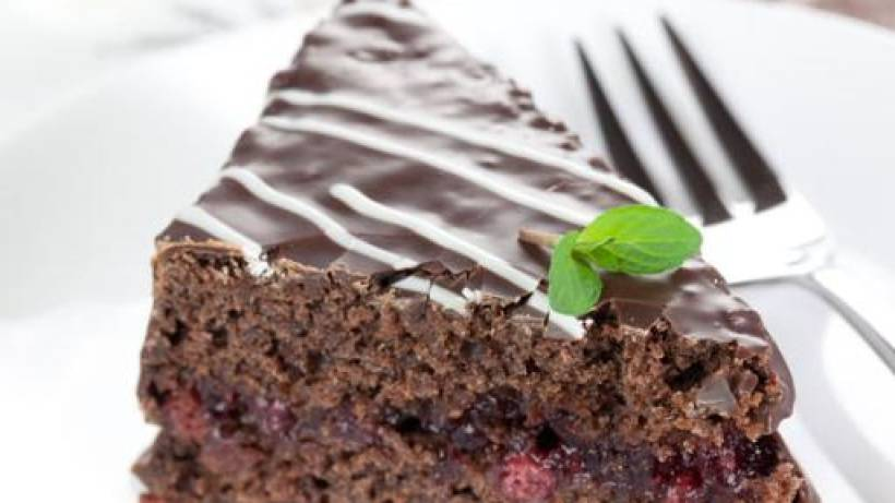 Schokoladen Nuss Torte Bildderfraude