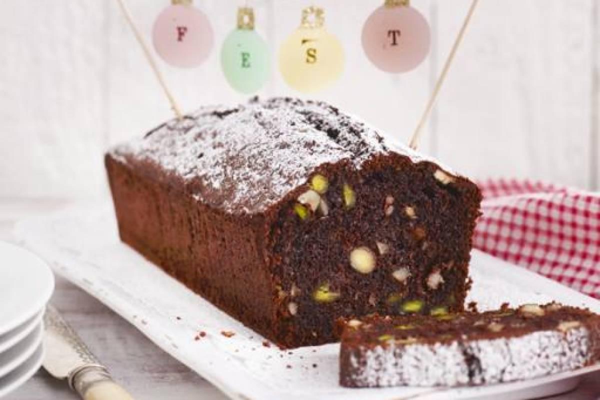 Schoko Nuss Kuchen Mit Marzipan Bildderfraude