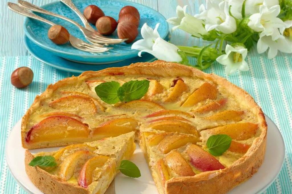 Pfirsich Joghurt Kuchen Bildderfrau De