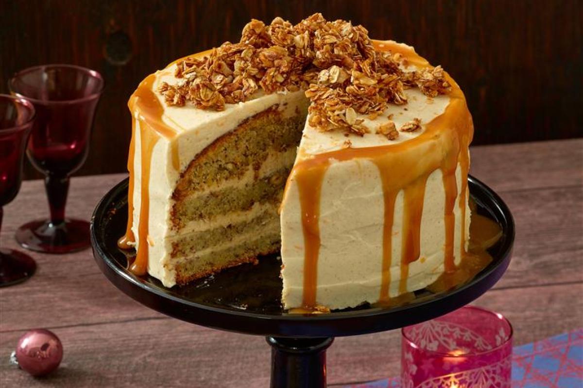 Karamell-Knusper-Torte: Rezept für Genießer