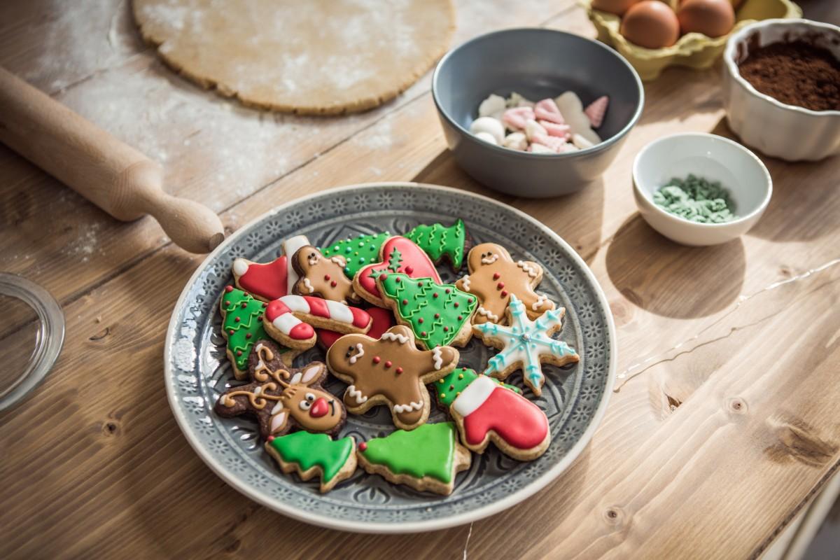 Außergewöhnliche Weihnachtskekse.Einfaches Rezept Für Weihnachtsplätzchen Zum Ausstechen