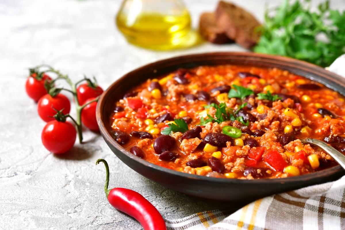 Chili Con Carne Mal Anders Nämlich Kalorienarm Bildderfraude