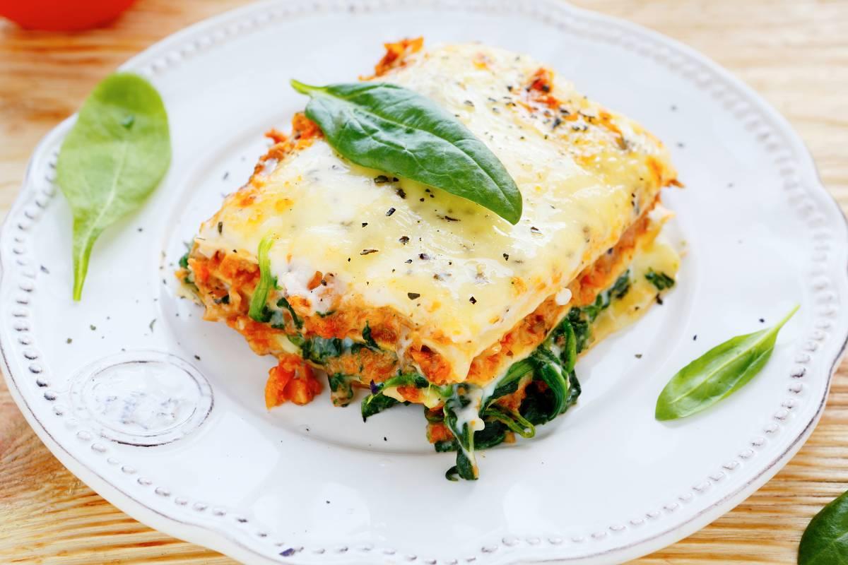 Einfaches Rezept Für Spinat Lachs Lasagne Mit Frischkäse