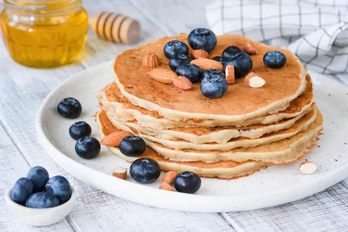 Low Carb Pfannkuchen Rezept Mit Mandelmehl Bildderfraude