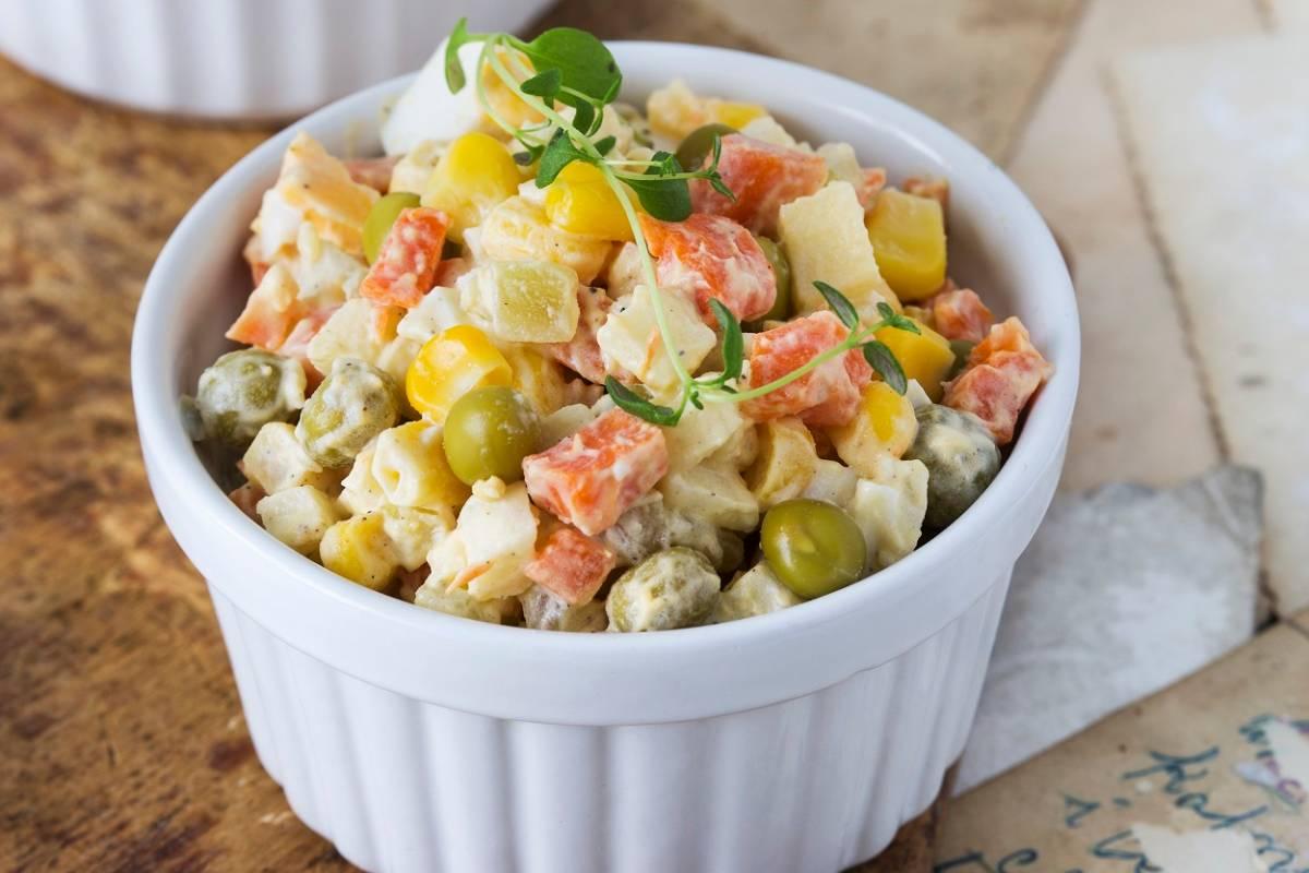 Polnischer Kartoffelsalat Rezept Mit Mayonnaise Bildderfraude