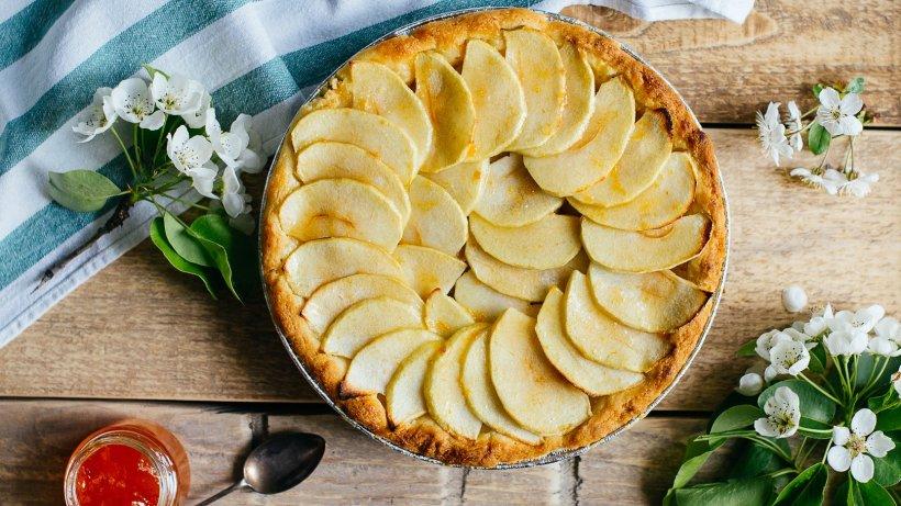 Ganz einfach: Apfeltarte mit Blätterteig und Marmelade