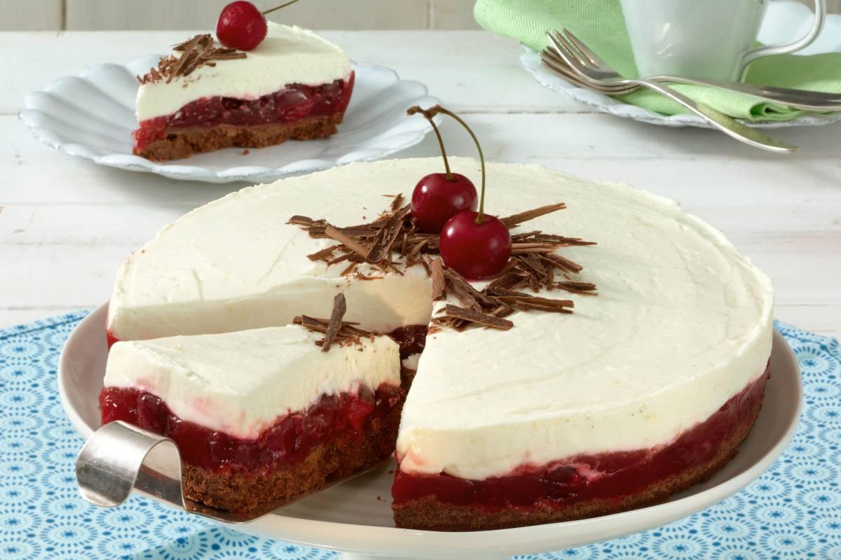 Schneewittchentorte Marchenhaftes Dessert Bildderfrau De