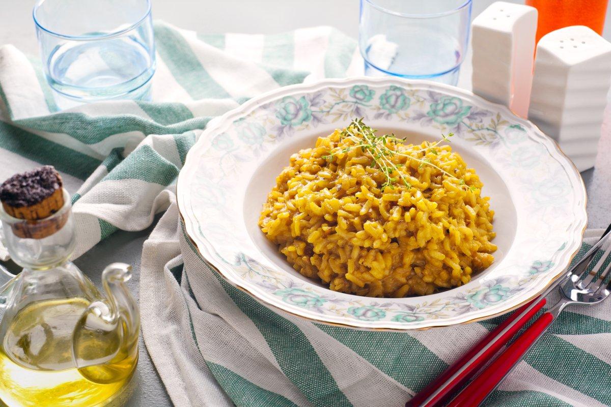 Risotto alla milanese: Rezept aus Italien