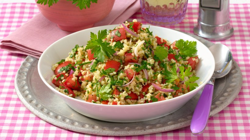 Der schmeckt köstlich: Petersilien-Bulgur-Salat