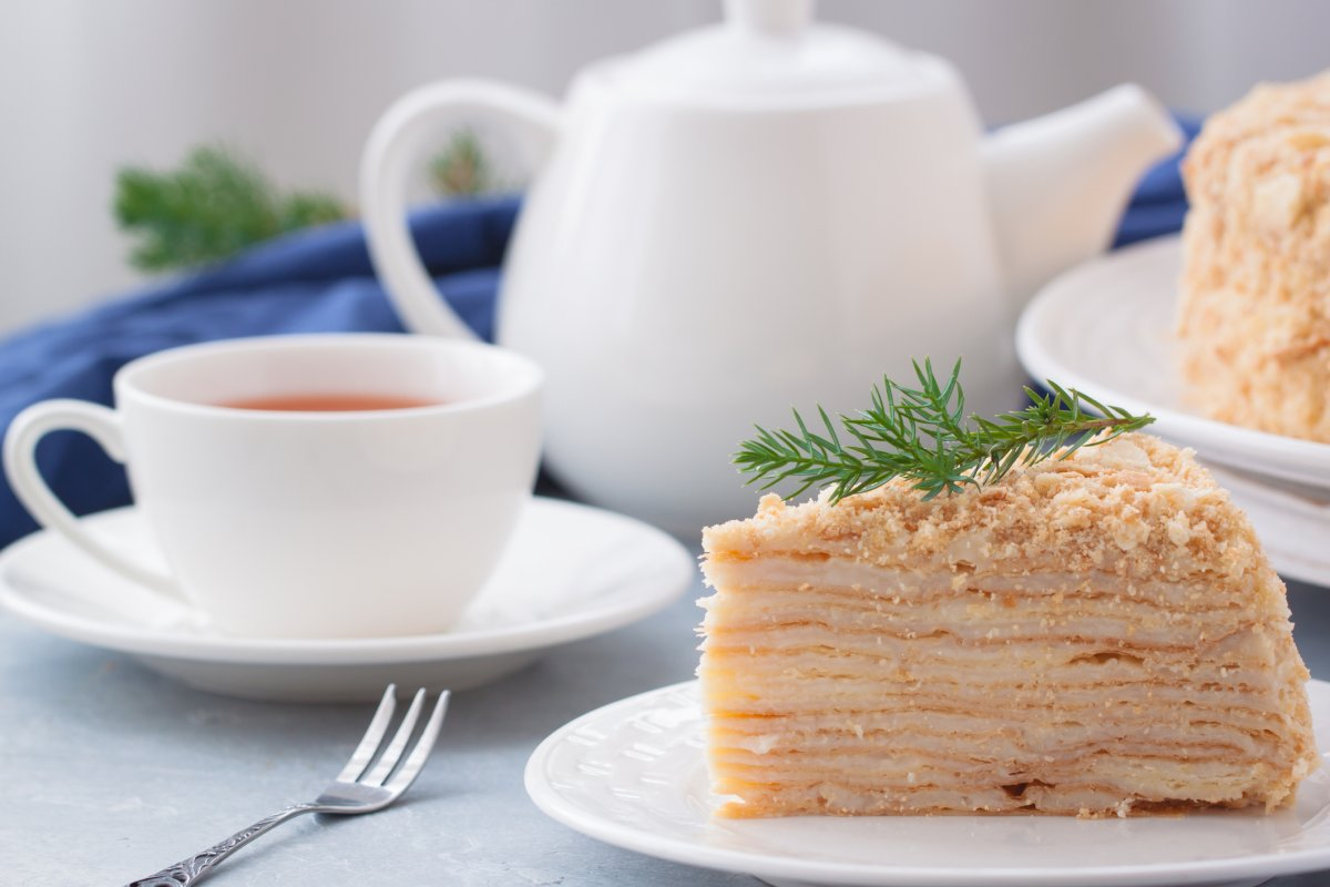 Napoleon-Kuchen: Rezept für den russischen Klassiker