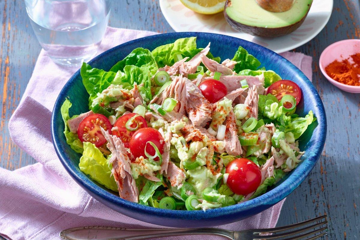 Thunfischsalat mit Avocado