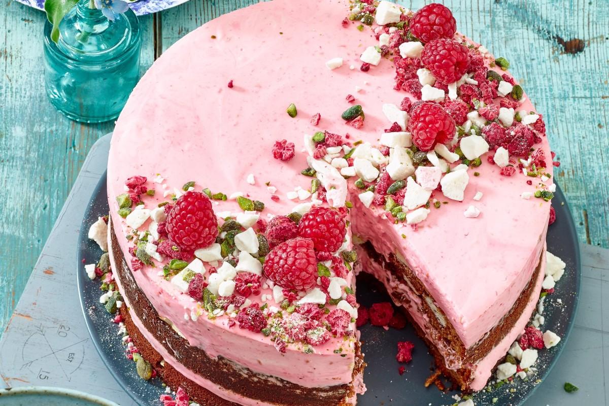 himbeer baiser kuchen