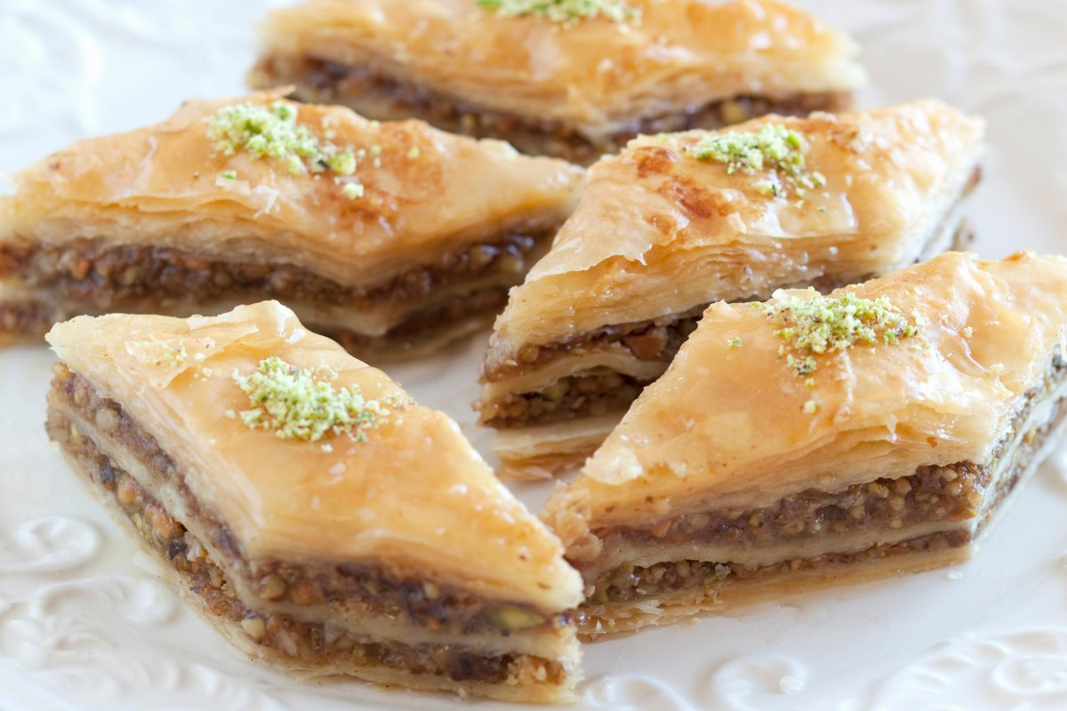 Baklava Rezept: traditionell türkisch mit Nussfüllung