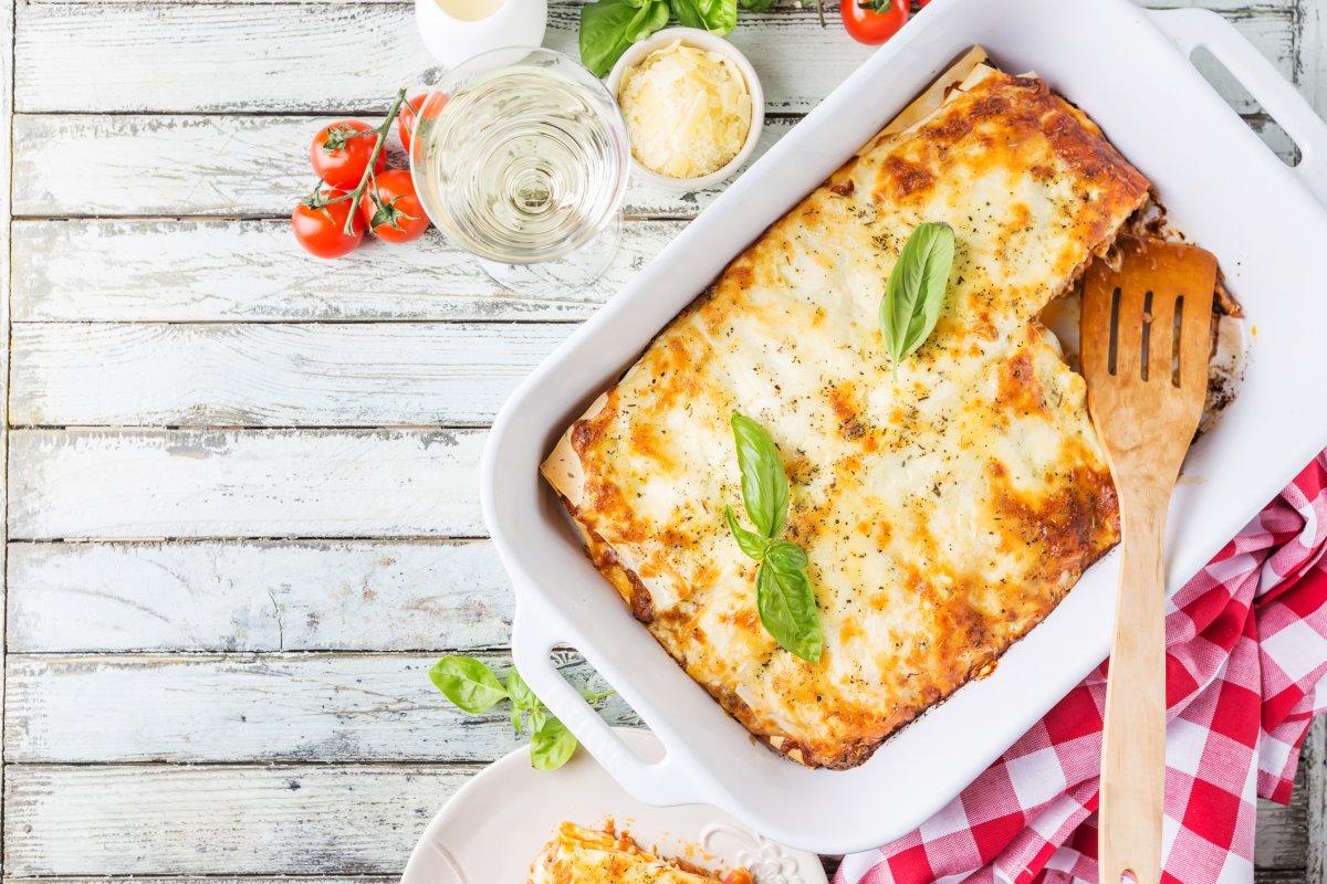 Lasagne-Rezept auf die Schnelle