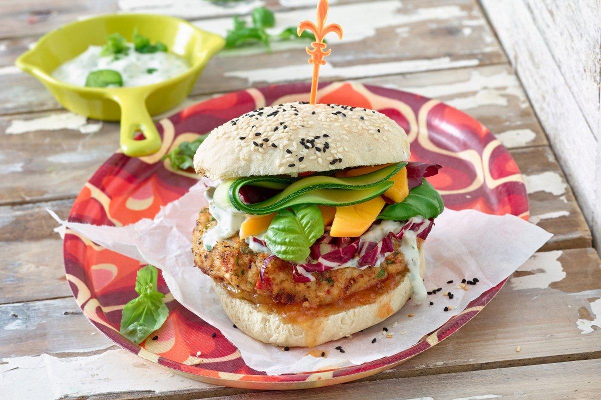 Kichererbsen-Burger: Selbst vegane Burger machen