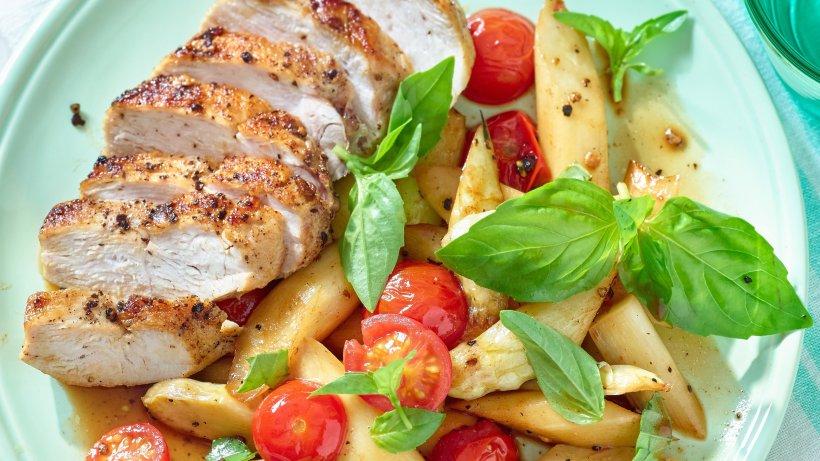 So schmeckt Urlaub: Italienische Spargel-Pfanne