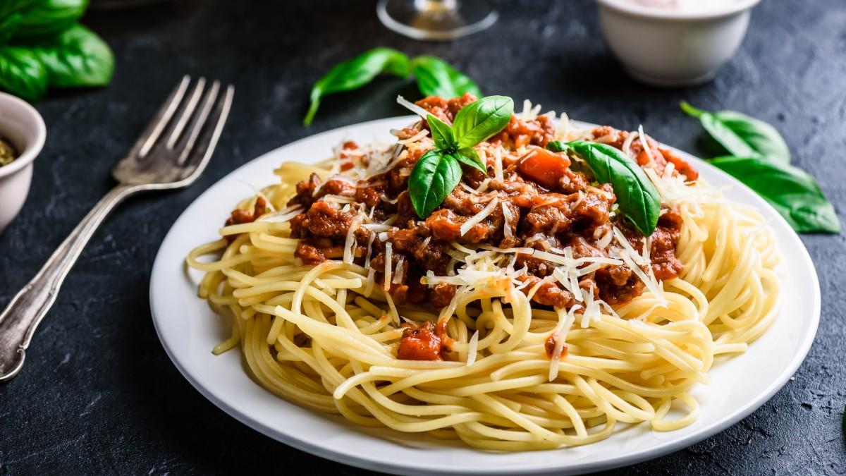 Heute mal ein Klassiker: Selbst gemachte Spaghetti Bolognese