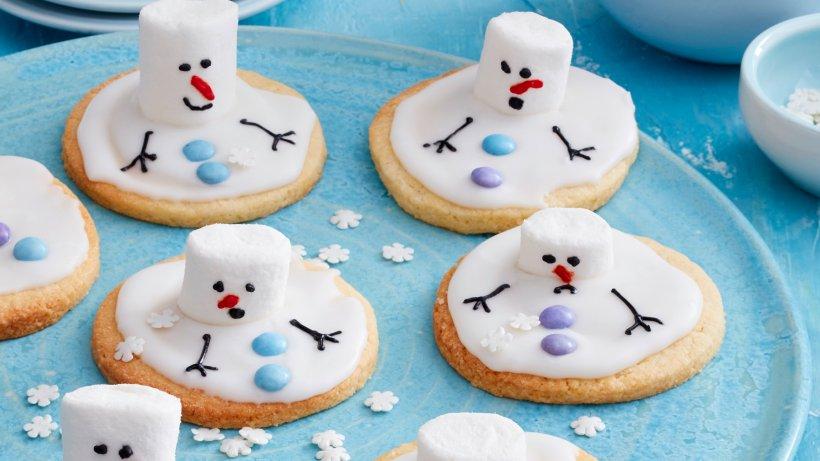 Wow-Plätzchen für die ganze Familie: Schneemann-Kekse