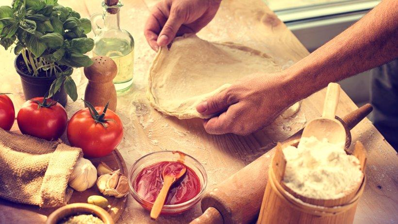 Original neapolitanischer Pizza-Teig: So geht's!