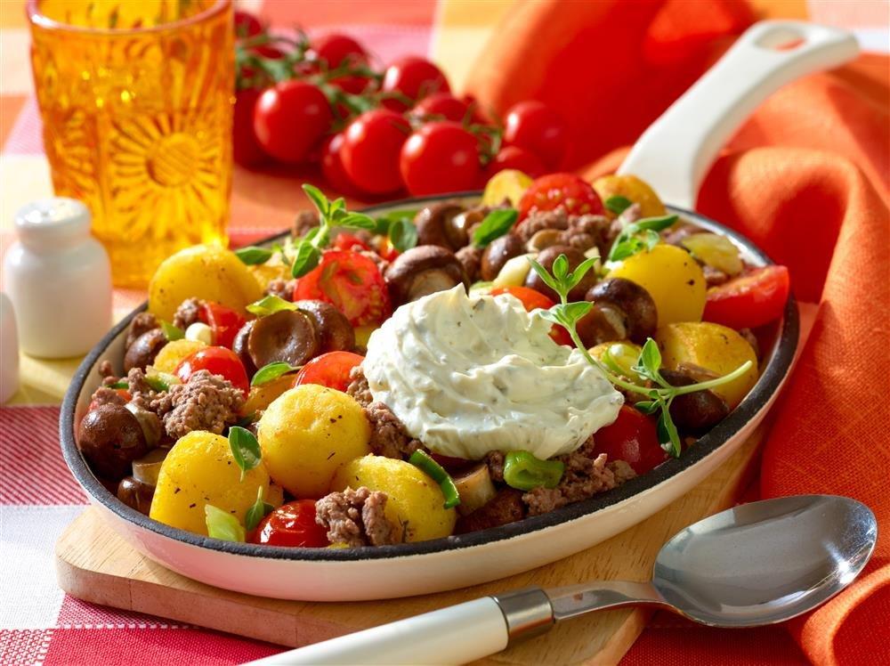 Rezept Kartoffel Hackfleisch kartoffel hack pfanne bild der frau