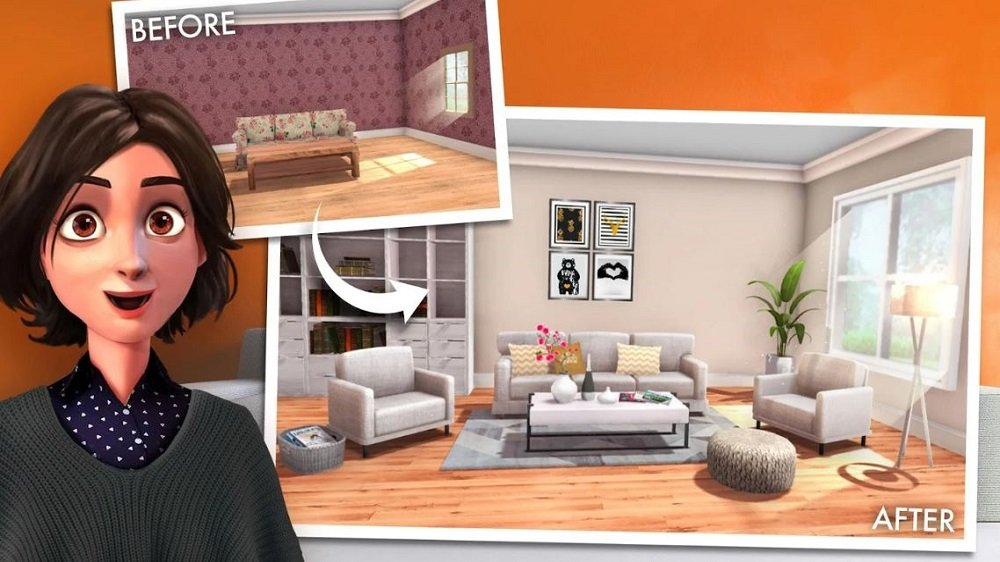Der eigenen Kreativität sind keine Grenzen gesetzt - das Spiel animiert dazu, sein eigenes Zuhause neu zu dekorieren oder umzugestalten