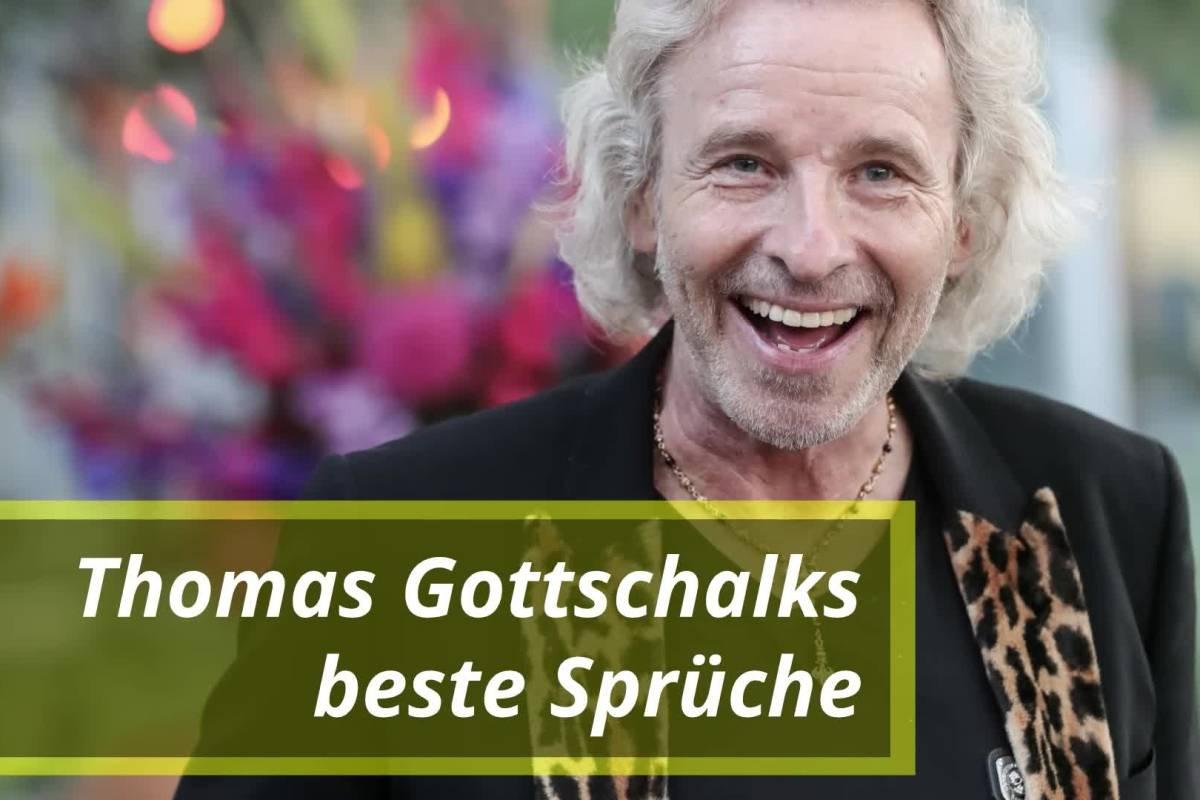 Thomas Gottschalks Beste Spruche Bildderfrau De