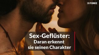 Mann stöhnt beim sex